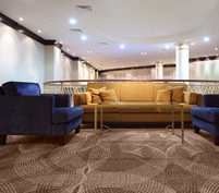 宴会場や会議室、ホテルロビーなどのカーペットの張り替え